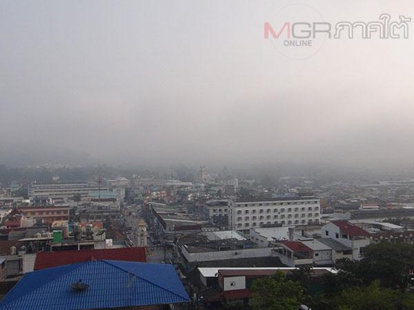 เบตงตรวจพบค่าฝุ่นยังไม่เกินมาตรฐานหลังเจออิทธิพลไฟป่าอินโดนีเซีย