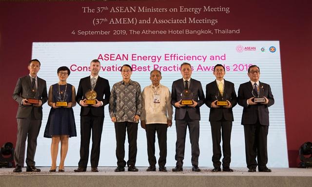 เดลต้าคว้ารางวัล ASEAN Energy Award 2019 ประเภทอาคารสีเขียว