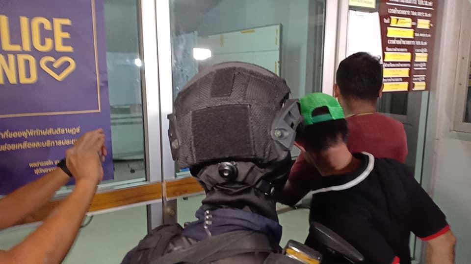 บุกรวบผู้ต้องสงสัยปล้นทองออโรร่าสาขาตั้งฮั่วเส็งธนบุรี