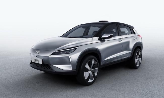 Identy X SUV วรถยนต์ไฟฟ้าแบบเต็มขั้นรุ่นแรกของ Xpeng บริษัทที่ Alibaba ลงทุน