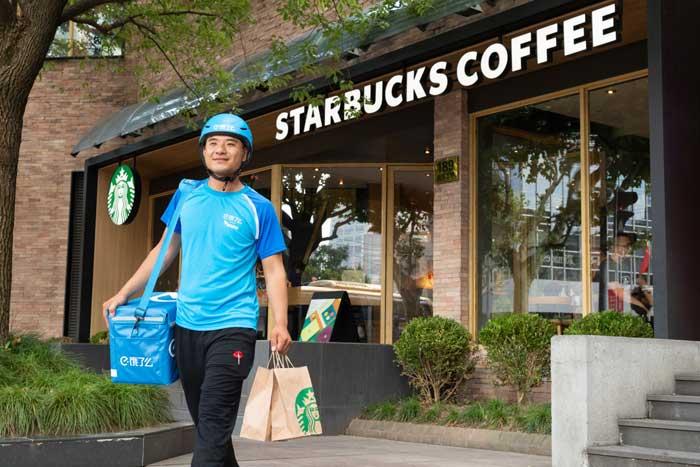 ความร่วมมือกับ Starbucks เป็นส่วนหนึ่งของการต่อยอดการผลักดันแนวคิดค้าปลีกยุคใหม่ของ Alibaba