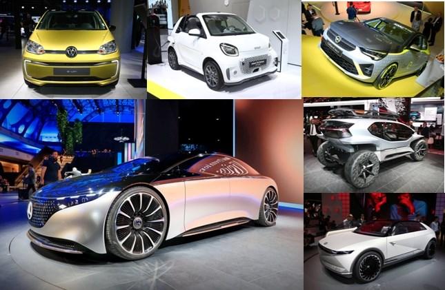 """รถพลังไฟฟ้ายุคหน้า อวดโฉมงาน  """"แฟรงค์เฟิร์ต มอเตอร์โชว์ 2019"""""""
