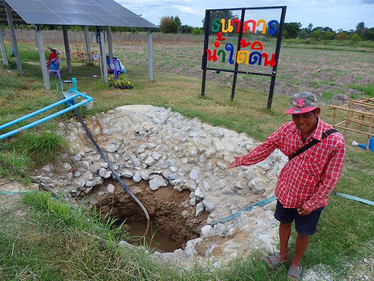 """""""ธนาคารน้ำใต้ดิน"""" ฝากน้ำไว้ในดิน มีใช้อย่างยั่งยืน"""