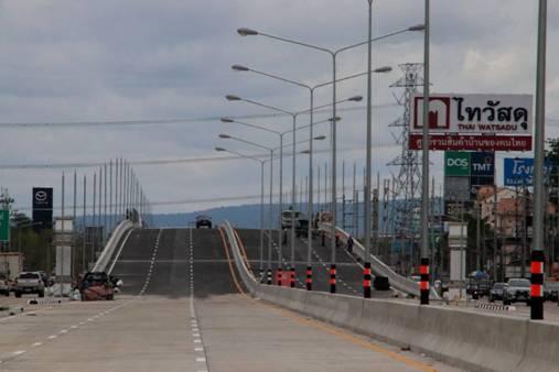 ดีเดย์เปิดสะพานข้ามแยกอินโดจีนเสาร์นี้ เชื่อมระเบียงเศรษฐกิจEWEC