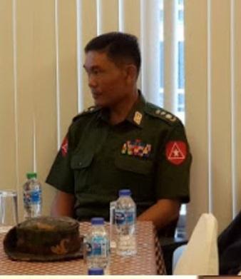 พ.อ.ตาน ชิ่น อู ผบ.ยุทธศาสตร์ท่าขี้เหล็ก พม่า