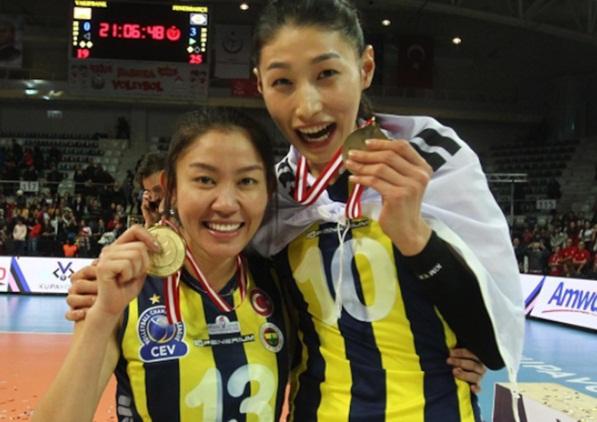 นุศรา ต้อมคำ กับ คิม ยอน คยอง เคยเล่นร่วมทีมกันในลีกตุรกี