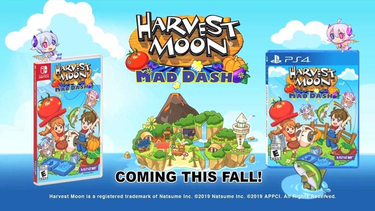 """โชว์ระบบ """"Harvest Moon: Mad Dash"""" พัซเซิลปลูกผัก สนุกได้หลายคน"""