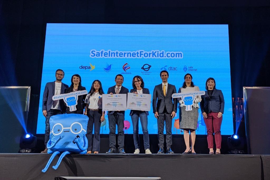 ดีแทค เดินหน้าเพิ่มทักษะดิจิทัลเยาวชนไทย ผ่าน SafeInternetForkid.com