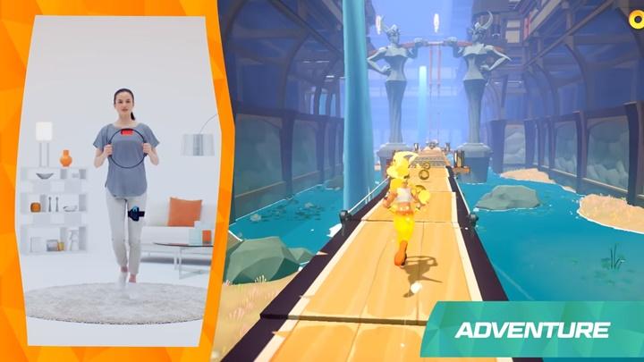 """เปิดตัว """"RingFit Adventure"""" เกมกายบริหารสำหรับสวิตช์"""