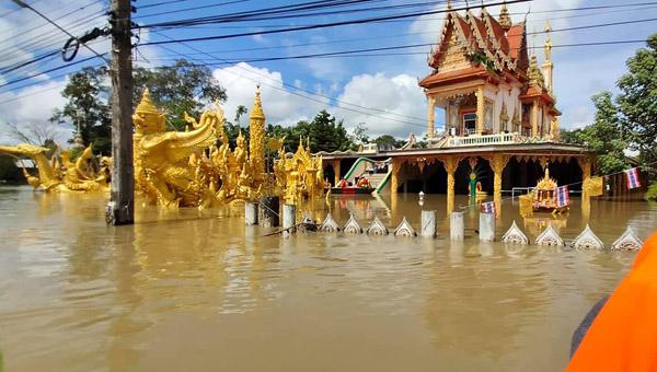 ผ่านจุดวิกฤตแล้ว รพ.สรรพสิทธิประสงค์ น้ำไม่ท่วมแน่ หลังอุบลฯ ระดับน้ำเริ่มลด