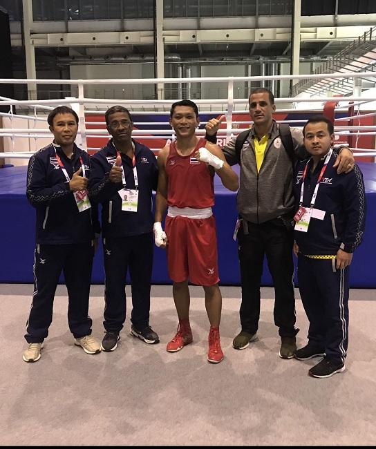 """""""สมชาย"""" พอใจ 4 นักชกไทยสอบผ่าน """"ไอบาเวิลด์บ็อกซิ่ง"""" เร่งแก้จุดอ่อนก่อนโอลิมปิก"""