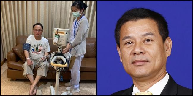 (ซ้าย) นายยุทธพงศ์ จรัสเสถียร ส.ส.มหาสารคาม พรรคเพื่อไทย (ขวา) นายนวัธ เตาะเจริญสุข ส.ส.ขอนแก่น พรรคเพื่อไทย