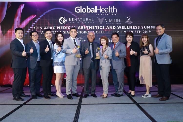 VitalLife คว้า 3 รางวัลระดับสากล ตอกย้ำความเป็นเลิศ ในฐานะผู้นำด้านการฟื้นฟูดูแลสุขภาพแบบองค์รวม