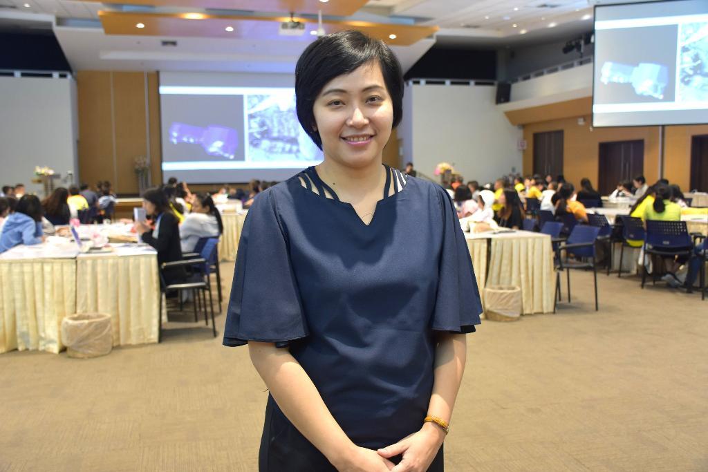 ดร.สิรสา ยอดมงคล นักวิจัยทีมวิจัยเทคโนโลยีเครื่องมือแพทย์ฝังใน A-MED สวทช.