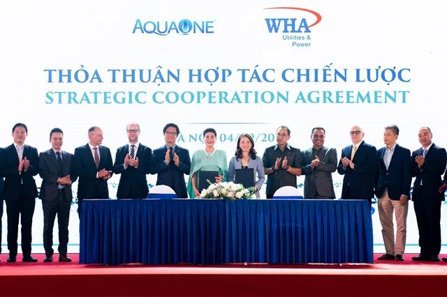 ดับบลิวเอชเอ ยูทิลิตี้ส์ฯ จับมือ Aquaone ลุยโปรเจ็คต์ให้บริการน้ำประปาในเวียดนาม
