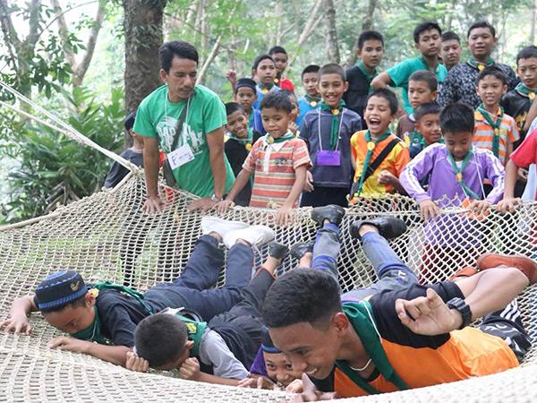 ชาวเจาะกลาดี ร่วมกับ ชาวตาชี เปิดศูนย์ค่ายฝึกลูกเสือเพื่อเรียนรู้สัมผัสสองวัฒนธรรมที่อยู่ร่วมกันได้อย่างมีความสุข