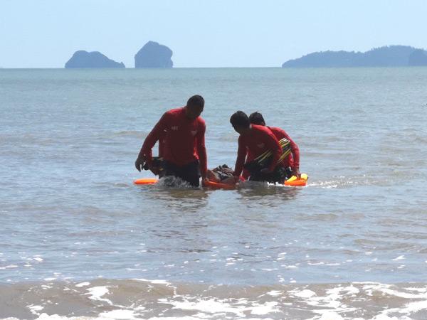 หน่วยกู้ภัยทางทะเลชุมชนจัดอบรมอาสาสมัครกู้ภัยทางทะเลเตรียมรับไฮซีซั่น
