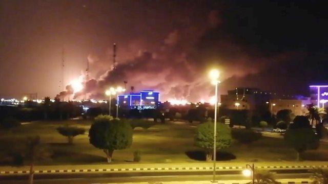 ข่าวกรองมะกัน ฟันธงแล้ว! โดรนโจมตีโรงกลั่นน้ำมันซาอุฯ มาจากอิหร่าน