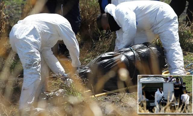โคตรเถื่อน! เม็กซิโกเจอ 29 ศพปริศนาถูกทิ้งในถุงพลาสติกกว่าร้อยใบ