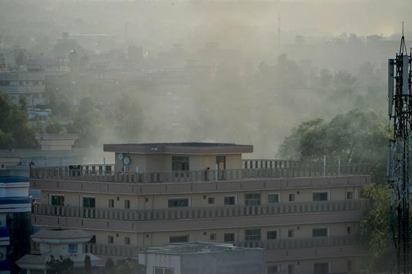 In Clip: มือระเบิดฆ่าตัวตายบุกโจมตีที่ตั้งรัฐบาลอัฟกันทางภาคตะวันออก เจ็บ 12