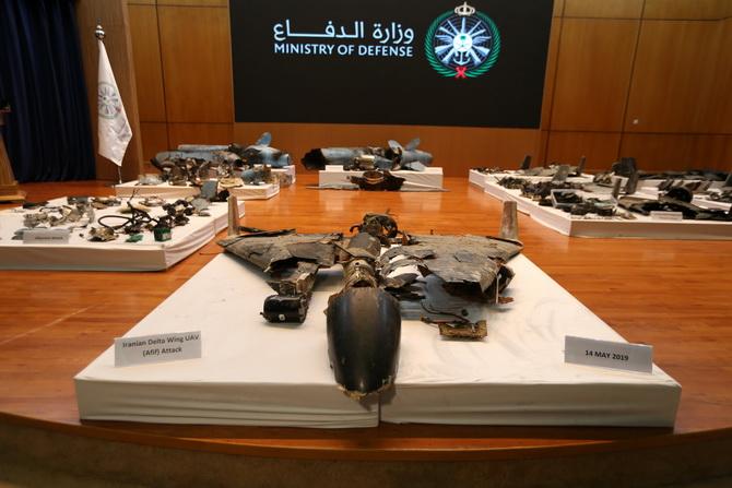 กระทรวงกลาโหมซาอุดีอาระเบียเปิดแถลงข่าวในวันพุธ(18ก.ย.) จัดแสดงเศษซากโดรนและขีปนาวุธที่พวกเขาระบุว่าเป็นหลักฐานการรุกรานของอิหร่าน ที่ไม่สามารถปฏิเสธได้ หลังกล่าวหาเตหะรานอยู่เบื้องหลังเหตุโจมตีโรงกลั่นน้ำมันเมื่อช่วงสุดสัปดาห์ที่ผ่านมา