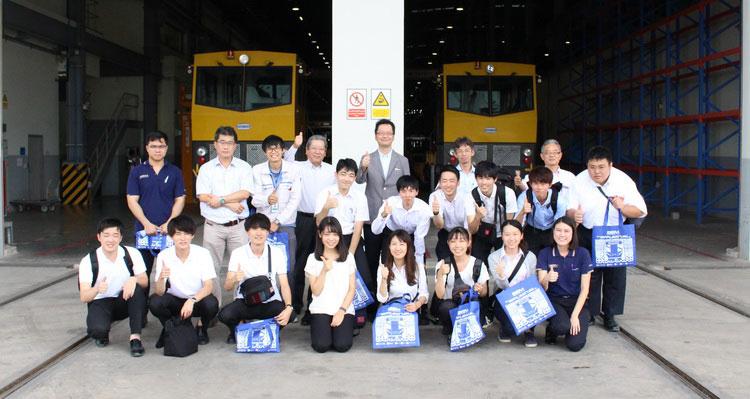 BEM ต้อนรับคณะเยี่ยมชมจาก Meiji University และ Thai Meidensha