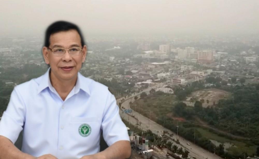 """ภาคใต้ฝุ่น PM 2.5 เกินมาตรฐาน 2 จุด """"หาดใหญ่-สะเตง"""" ย้ำเลี่ยงกิจกรรมกลางแจ้ง"""