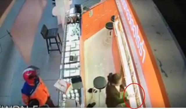 ไปรษณีย์ไทยแจงคนร้ายปล้นร้านทองกลางห้างดัง ไม่ใช่พนักงาน
