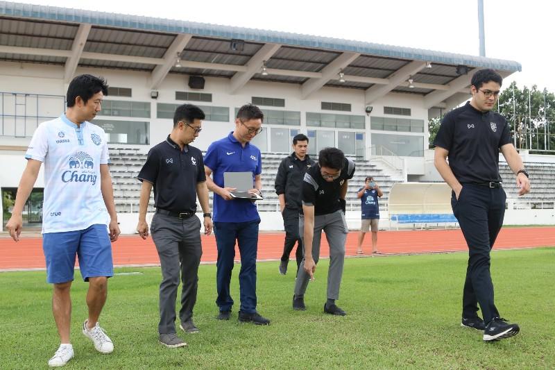ลุยต้อ! AFC ตรวจ สนามซ้อมบุรีรัมย์ ก่อนจัดชิงแชมป์เอเชีย U23
