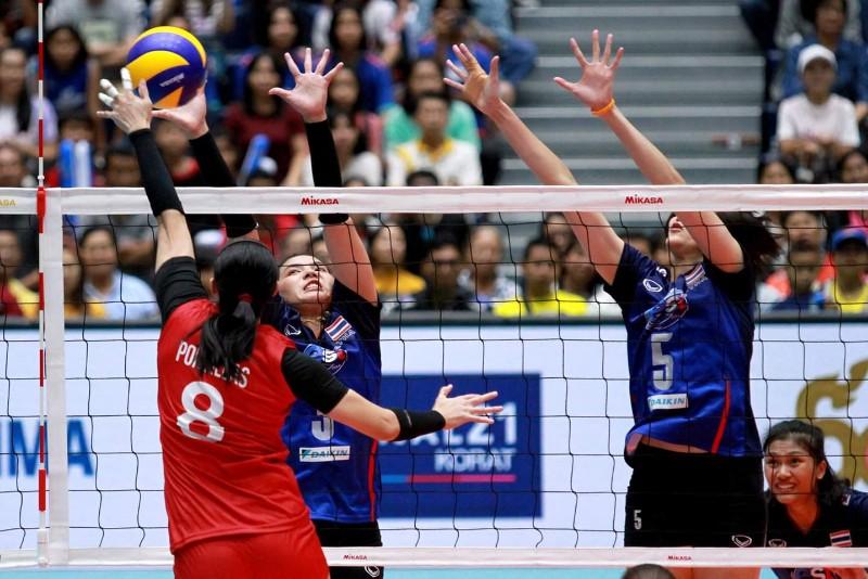 สาวไทย ตบ ฟิลิปปินส์ 3-1 คว้าชัยศึกอาเซียน นัดที่ 2