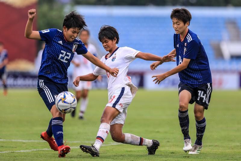 ชบาแก้วU16 พ่าย ญี่ปุ่น 8-0 ตกรอบแรก ศึกชิงเเชมป์เอเชีย