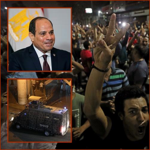 """In Clip: แก๊สน้ำตา-กระสุนจริงยิงใส่ผู้ประท้วงอียิปต์ขับไล่ """"ปธน.ซิซี"""""""