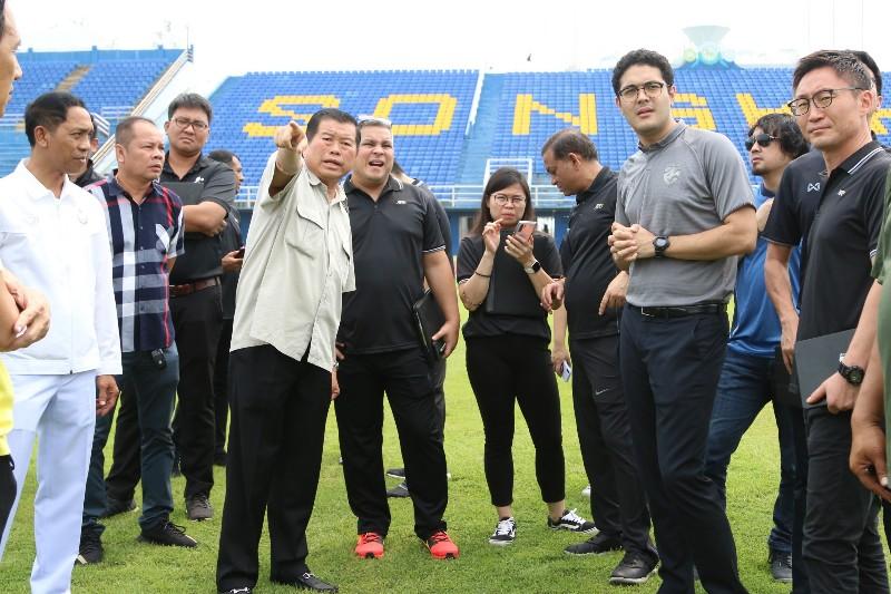 AFC ตรวจความพร้อมสนามติณฯ รับเจ้าภาพชิงแชมป์เอเชีย