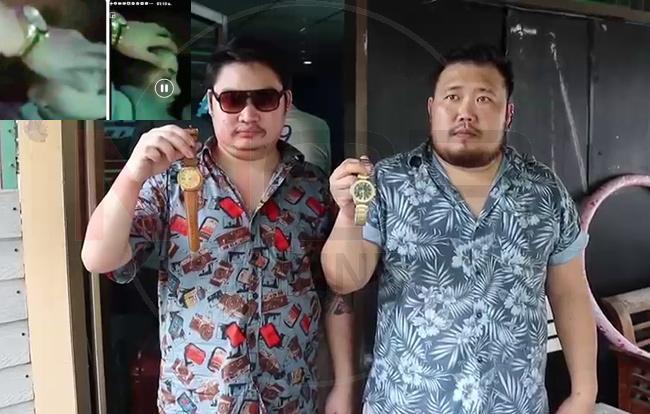 """สองหนุ่มเจ้าของปาร์ตี้ถ้า""""เดียร์""""แจ้งความยันไม่มีมอมเหล้าข่มขืน โชว์นาฬิกาปมดรามาโซเชียล คลิปลูบหน้า""""ลันลาเบล"""""""
