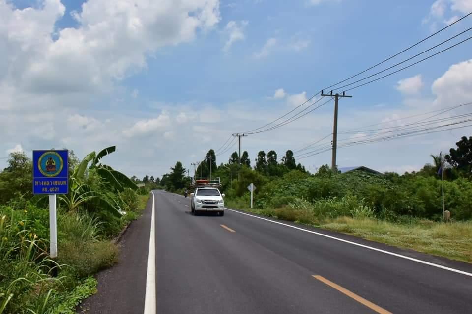 ทช.ผุดถนนยางพารา สาย ลบ.4021 ทางลัดเชื่อม อยุธยา- ลพบุรี