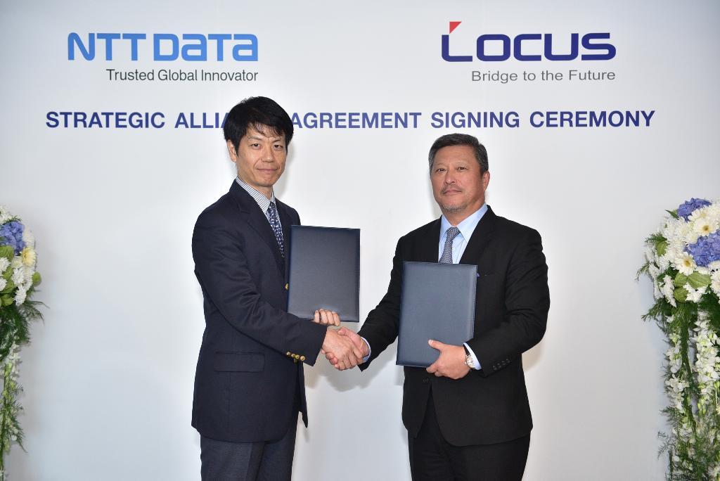 NTT DATA ซื้อกิจการ Locus Telecommunication ขยายธุรกิจในไทย