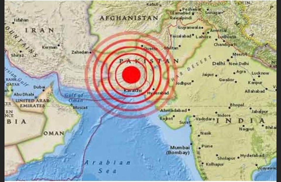 สถานทูตฯอิสลามาบัด เผยแผ่นดินไหวขนาด 5.8 มีผู้เสียชีวิตกว่า 50 ราย เบื้องต้นไม่พบคนไทยได้รับผลกระทบ