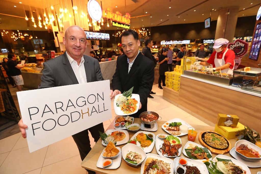 """""""พารากอน ฟู้ดฮอลล์""""  ดึงร้านอาหารอร่อยชื่อดังเปิดสาขา"""