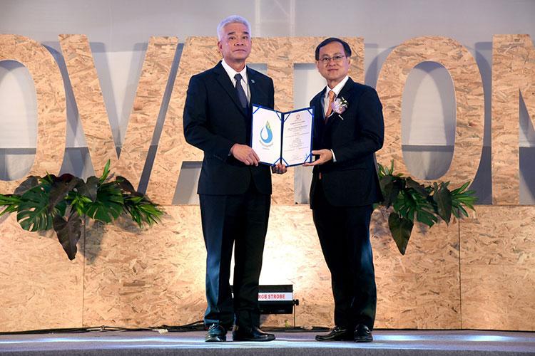 บางจากฯ รับมอบใบรับรองมาตรฐาน Water Footprint ของผลิตภัณฑ์ เป็นโรงกลั่นน้ำมันแรกในประเทศไทย