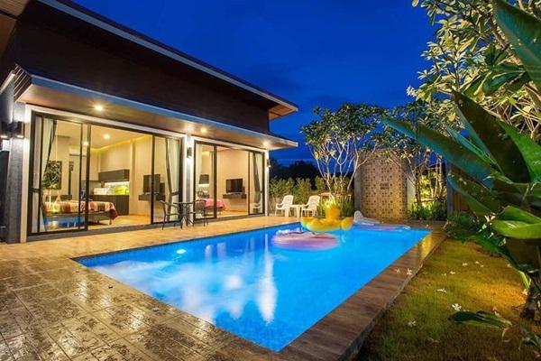 บ้านพักตากอากาศ แบบพูลวิลล่า กำลังได้รับความนิยมสูงในพื้นที่ชะอำ