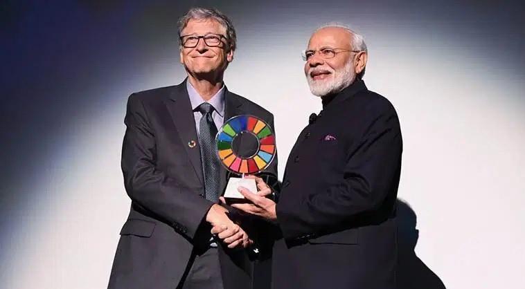 มูลนิธิ 'บิล เกตส์' มอบรางวัลผู้นำอินเดียจากการรณรงค์ต่อต้าน 'ปลดทุกข์ในที่โล่ง'