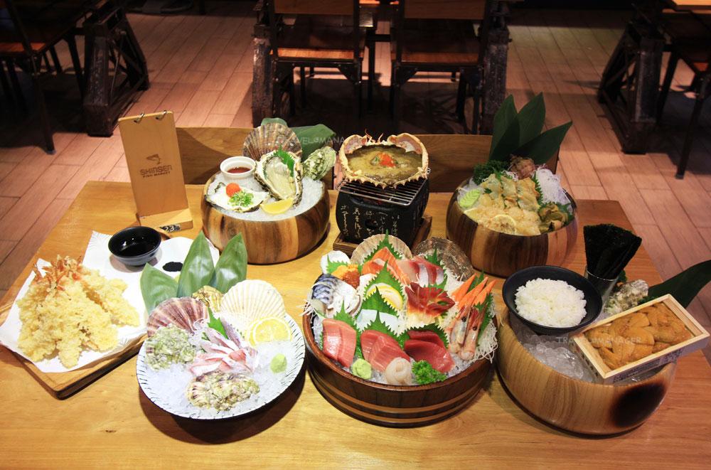 หลากหลายอาหารญี่ปุ่นชวนกิน
