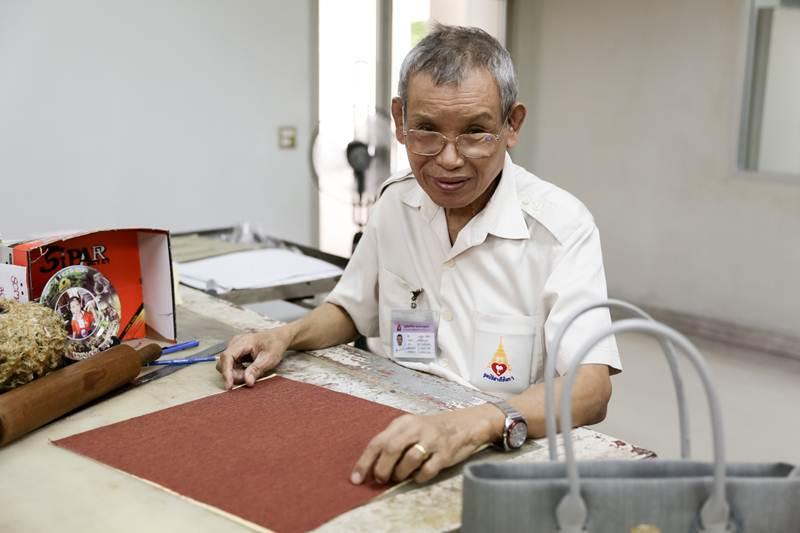 ร.ต.สุวิทย์ ศรีโศรก เจ้าหน้าที่อาวุโส มูลนิธิ สายใจไทยฯ