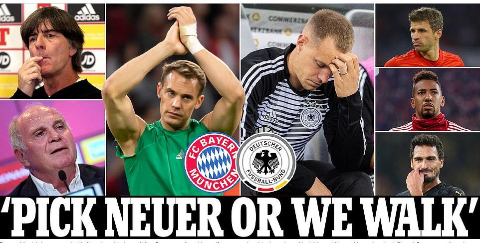 """สรุปดราม่ามือ 1 ทีมชาติ """"อินทรีเหล็ก"""" เยอรมนี"""