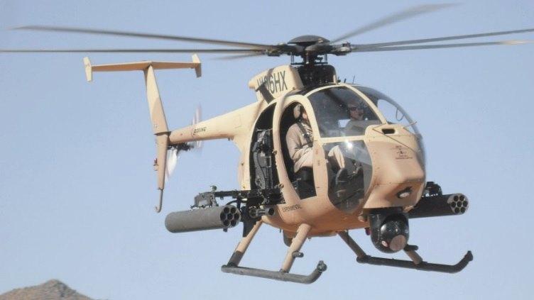 มะกันไฟเขียวขายฮ.โจมตี AH-6i ให้กองทัพบกไทย 8 ลำ วงเงิน 1.2 หมื่นล.