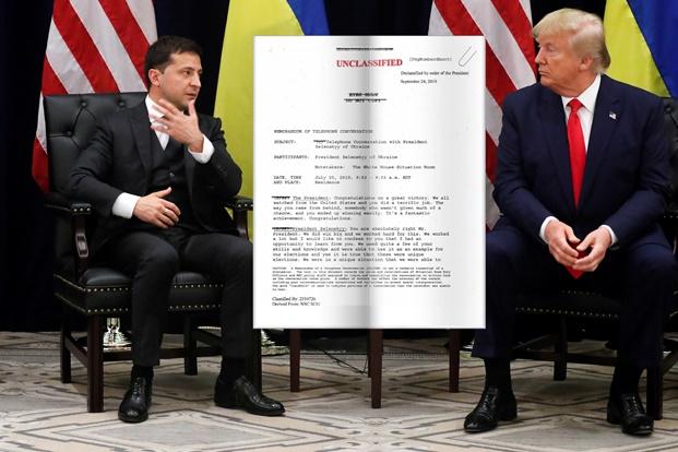 In Clips: ทรัมป์ยอมเปิดเผยบันทึกสนทนากับผู้นำยูเครน หลังโดนเดโมแครตเริ่มสอบสวนถอดถอน