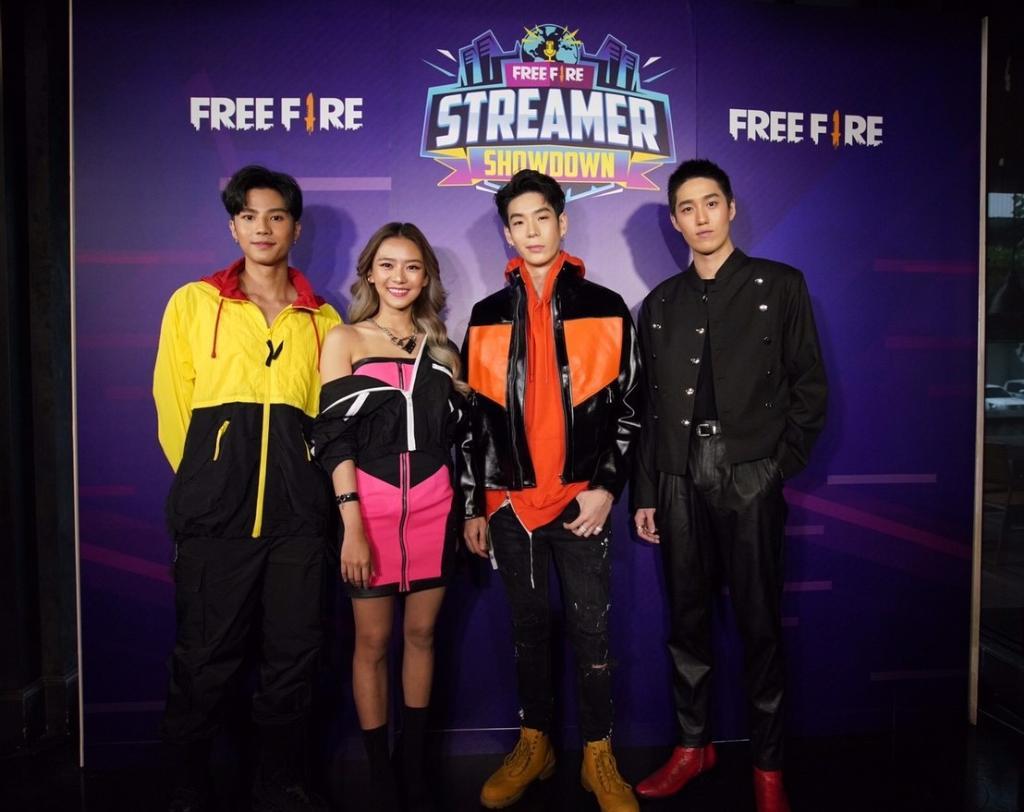 """""""ต่อ – เจเจ – แบงค์ – แพรวา"""" ตัวแทนคนเจนฯใหม่ที่โดดเด่นมีสไตล์คว้าพรีเซนเตอร์ Free Fire เกมดังระดับโลก!!"""