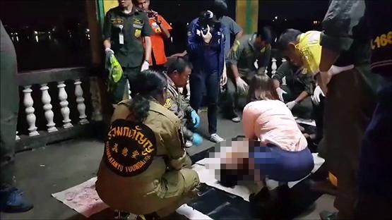 ชายป่วยซึมเศร้า เครียดตกงานโดดสะพานพระราม5 เสียชีวิต