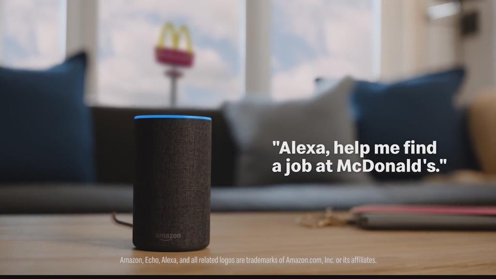 แมคโดนัลด์ ใช้นวัตกรรม AI รับสมัครพนักงาน
