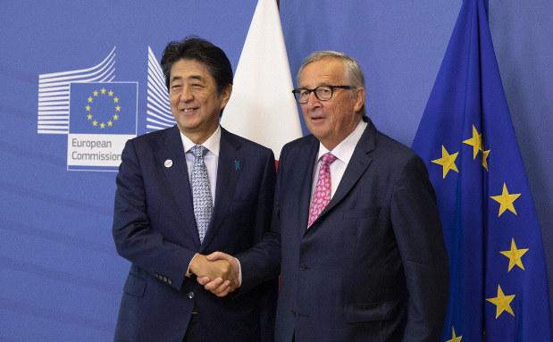ญี่ปุ่น-อียู จับมือพัฒนาโครงสร้างพื้นฐานรับมือการขยายอำนาจของจีน